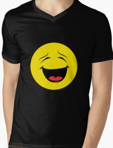 emotion Laugh Mens V-Neck T-Shirt