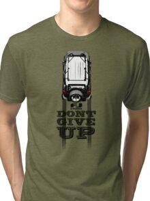 FJ CRUISER DONT GIVE UP Tri-blend T-Shirt