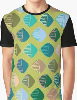 green diamonds Graphic T-Shirt