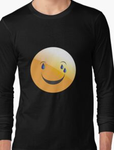 emotion cry Long Sleeve T-Shirt