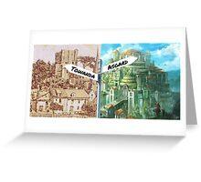 From Asgard, Towanda Greeting Card