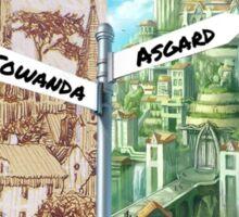 From Asgard, Towanda Sticker