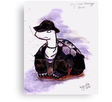 Tiny Turtle Undertaker Canvas Print