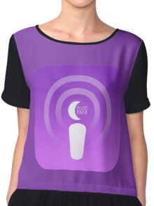 Welcome to Night Vale Podcast Chiffon Top