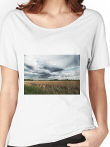 Midwest Storm Clouds  Women's Relaxed Fit T-Shirt