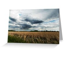 Midwest Storm Clouds  Greeting Card