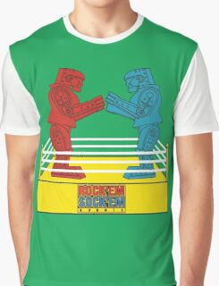 Rock'em Sock'em - 2D Original Graphic T-Shirt