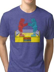 Rock'em Sock'em - 2D Original Tri-blend T-Shirt