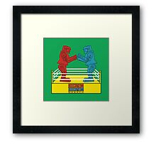 Rock'em Sock'em - 2D Original Framed Print