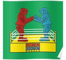 Rock'em Sock'em - 2D Original Poster