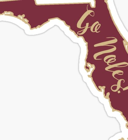 Florida State Seminoles Outline Sticker