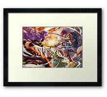 Fire Emblem Fates - Camilla VS Hinoka Framed Print