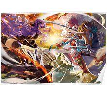 Fire Emblem Fates - Camilla VS Hinoka Poster