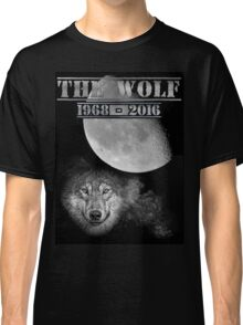 The Wolf Tribute Born To Be Wild Version Full Black Classic T-Shirt