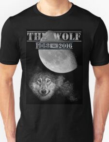 The Wolf Tribute Born To Be Wild Version Full Black Unisex T-Shirt