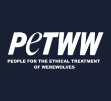 People for the Ethical Treatment of Werewolves Kids Tee