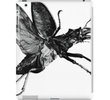 Flying Victorian Insect Beetles Bug iPad Case/Skin
