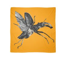 Flying Victorian Insect Beetles Bug Scarf