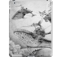 Wind Whales iPad Case/Skin
