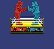 Rock'em Sock'em - 2D Original Text Variant Womens Fitted T-Shirt