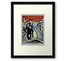 Caligari Poster 2 Framed Print