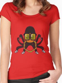 "RUN DMC ""HIPOCT"" Women's Fitted Scoop T-Shirt"