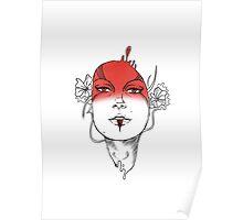 Seeing Red - Digital Ink Poster