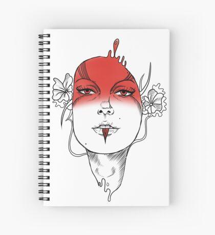 Seeing Red - Digital Ink Spiral Notebook