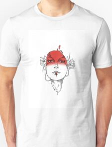 Seeing Red - Digital Ink Unisex T-Shirt