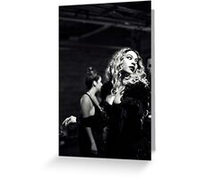 QUEEN B  Greeting Card