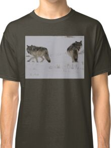 Checkin Their Backs Classic T-Shirt