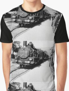 The Arrival of a Train at La Ciotat Station - Lumière Graphic T-Shirt