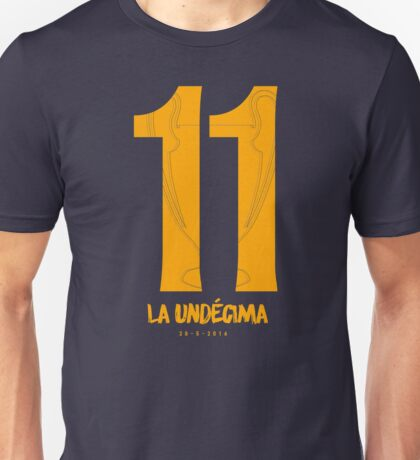 Real Madrid CF - La Undécima - Champions League Winners 2016 Unisex T-Shirt