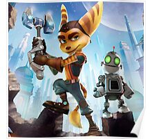 ratchet clank robot 2016 Poster