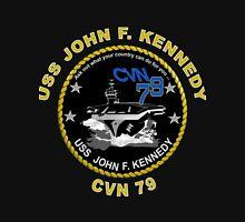 USS John F. Kennedy (CVN-79) Crest for Dark Colors Classic T-Shirt