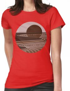 CoffeeScene Womens Fitted T-Shirt