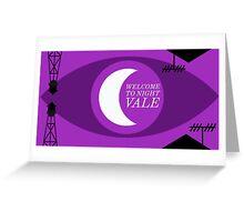 Night Vale Landscape Greeting Card