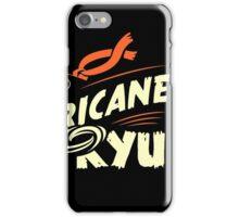 Hurricane Ryu iPhone Case/Skin