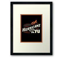 Hurricane Ryu Framed Print