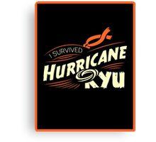Hurricane Ryu Canvas Print