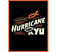 Hurricane Ryu Photographic Print