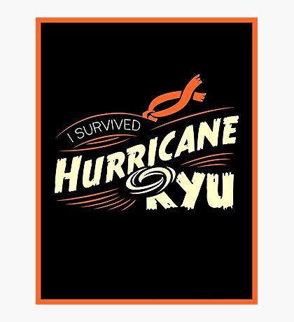 Hurricane Ryu Photographic Print