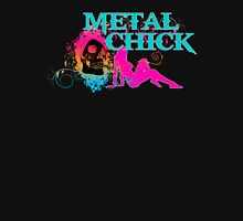 METAL CHICK Womens Fitted T-Shirt