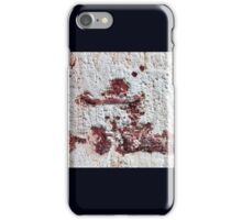 Abstract portrait iPhone Case/Skin