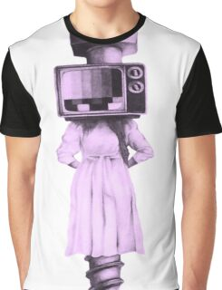 Television Off-Air Screwed  Graphic T-Shirt