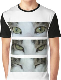 Cat's Eyes Graphic T-Shirt