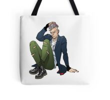 Punk Twelfth Doctor Tote Bag