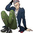 Punk Twelfth Doctor by PopcornIllus