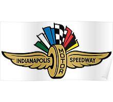 indianapolis, indiana, speedway, ims, race, racing, amreica, motor, aport, usa, motorcycle, motor, motor sport. indianapolis otor speedway, racer. Poster