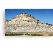 Mt. Garfield, Colorado Canvas Print